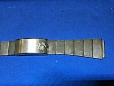 19mm Stainless Steel LCD LED 1970s nos Vintage Watch Band