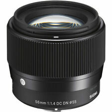Sigma 56mm f/1.4 DC DN Contemporary Lens For Micro Four Thirds, Black - 351963