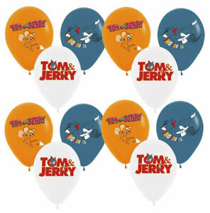 TOM AND JERRY Printed Latex Balloon Birthday Party Decoration.
