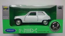 WELLY RENAULT 5 WHITE 1:34 DIE CAST METAL MODEL NEW IN BOX