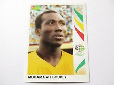 Sticker PANINI Fifa World Cup GERMANY 2006 N°516 Togo Mohama Atte-Oudeyi