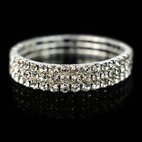Fashion Bracelet For Women Crystal Stretch Shine Bangle