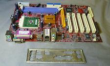 PCChips M848A REV 2:1 Socket 462 motherboard completo con placa de I/O & CPU