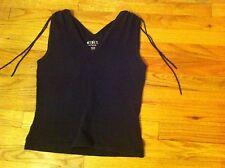 women's size medium Mixit Stretch brand sleeveless shirt Black Faded MIX-IT M