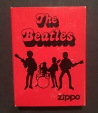 THE BEATLES ZIPPO LIGHTER 2006  ORIGINAL TIN & COVER BEATLES BAND NEW Mint Rare