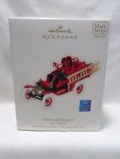 2008 Hallmark Keepsake Ornament 1908 Ford Model T Fire Brigade #6