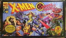 X-Men Under Siege Board Game - 18 Figures - Pressman 1994