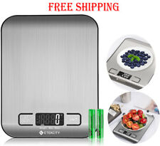 Etekcity Food Scale, Digital Kitchen Weight Grams and Ounces for Baking and Cook