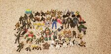 Action figures knights batman superman batman army  gijoe star wars tmnt mix lot