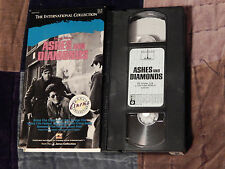 Ashes and Diamonds (VHS,1958) Free Ship.) Action) WWII)