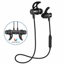 Bluetooth Earphones Wireless Magnetic Noise Cancelling Stereo Earbuds Headset