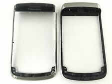 Original blackberry 9700 Bold front cover carcasa cáscara marco a Cover negro