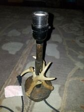 Accent Lamp Light Mossy Oak Deer Antler  Home Bedroom Decor