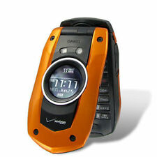 Casio C711 G'zOne Boulder RUGGED Cell Phone (VERIZON) Camera ~Black & Orange~