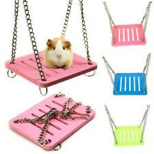 1x Pet Hamster Hanging Swing Bed Cage Rat Parrot Small Birds Play Toys Hammock