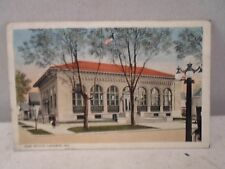 Laporte Ind INDIANA, Post Office, early postcard