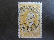 1913 Jubileum 5 gld. gestempeld AMSTERDAM CW € 45