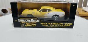 Ertl American Muscle 1971 Plymouth Cuda 10 Fastest