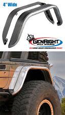 "Gen-Right Jeep TJ, LJ , YJ, CJ7 4"" Rear Fender Flares Aluminum"