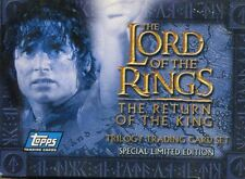 Lord Of The Rings ROTK Trilogy Complete 60 Card Factory Set