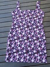 MISSGUIDED DRESS SIZE UK 16 BODYCON LIKE NEW ABSTRACT STRETCH