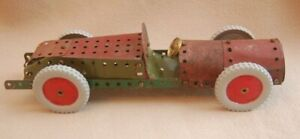 MECCANO  - BROOKLANDS STYLE MODEL CAR