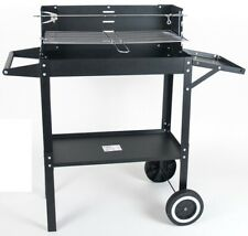 Charcoal Barbecue on Wheels BBQ Trolley