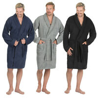 Pierre Roche Mens Terry Cloth Towelling Bath Robe Shawl Collar Dressing Gown New