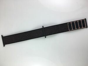 Original Genuine OEM Apple Watch Series 6 SE 5 4 3 2 Sport loop 42mm 44mm Black