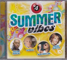 CD - SUMMER VIBES - GUETTA - SINCLAR - PITBULL- DIZZEE RASCAL -NEUF SOUS BLISTER