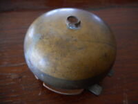 Antique Vintage School Recess Bell for Parts not working