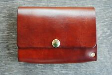 Large Custom Made Leather Fly Wallet For Fly Fisherman