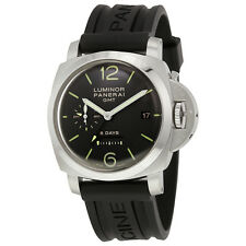 Panerai Luminor 1950 8 Days GMT Hand Wound Mens Watch PAM00233