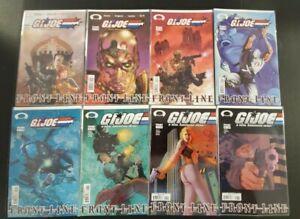 G.I. Joe Frontline 1-8 Very Fine / Near Mint Image Comics 2002 SBX2