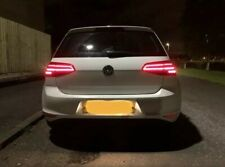 Golf MK7 to MK7.5 Rear LED Light Taillights Sliding Sequental Indicators 2013+