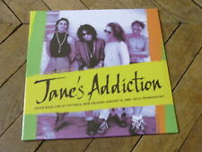 JANE'S ADDICTION Idiots rules LP Live at tipitina's New Orleans 89 FM Broadcast