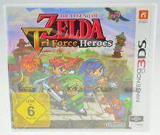 The Legend of Zelda: tri Force Heroes Nintendo 3ds nuevo soldada sealed #2