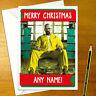 BREAKING BAD Personalised Christmas Card - walter white happy xmas holiday