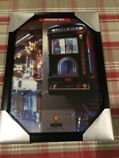 Nsm Performer Wall Jukebox Brochure In Frame For Games Room/ Man Cave