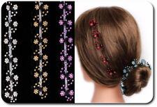 Set 6 Haarklemmen Blumen Haarklammer Haarclips Mini Haarkrebs 8 Farben Blume