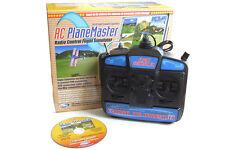 Avión Rc Master Simulador De Vuelo Con Modo 2 Transmisor
