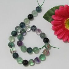 Naturelle A Grade Fluorite 14mm Ronde  Perles 1 Fil