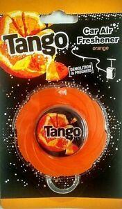 Car Air Freshener Tango Orange x 1 Hanging Car Air Freshener