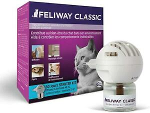 FELIWAY Classic Plug In Diffuser+Refill+Spray Calm Cat Stress Relief Pheromone