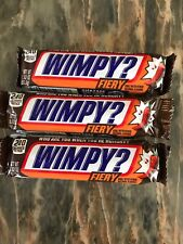 Lot of 3 Snickers Bars FIERY WORLD SHIP!