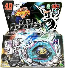 Blitz Unicorno Striker Beyblade Starter Set NIP w/ Launcher Ripcord - USA SELLER