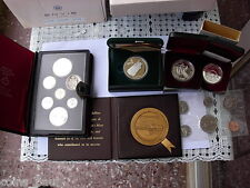 Canada 1978 Double dollar  prestige set  1979, 1983 silver 20 dollars 1988 proof