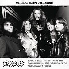 EXODUS - ORIGINAL ALBUM COLLECTION: DISCOVERING EXODUS  5 CD NEU