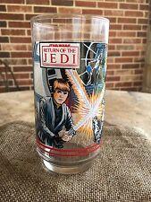 Star Wars Return Of The Jedi 1983 Burger King Collector Glass- Luke,Darth Vader