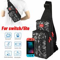 For Nintendo Switch/ Lite Carrying Case Shoulder Bag Travel Backpack Waterproof
